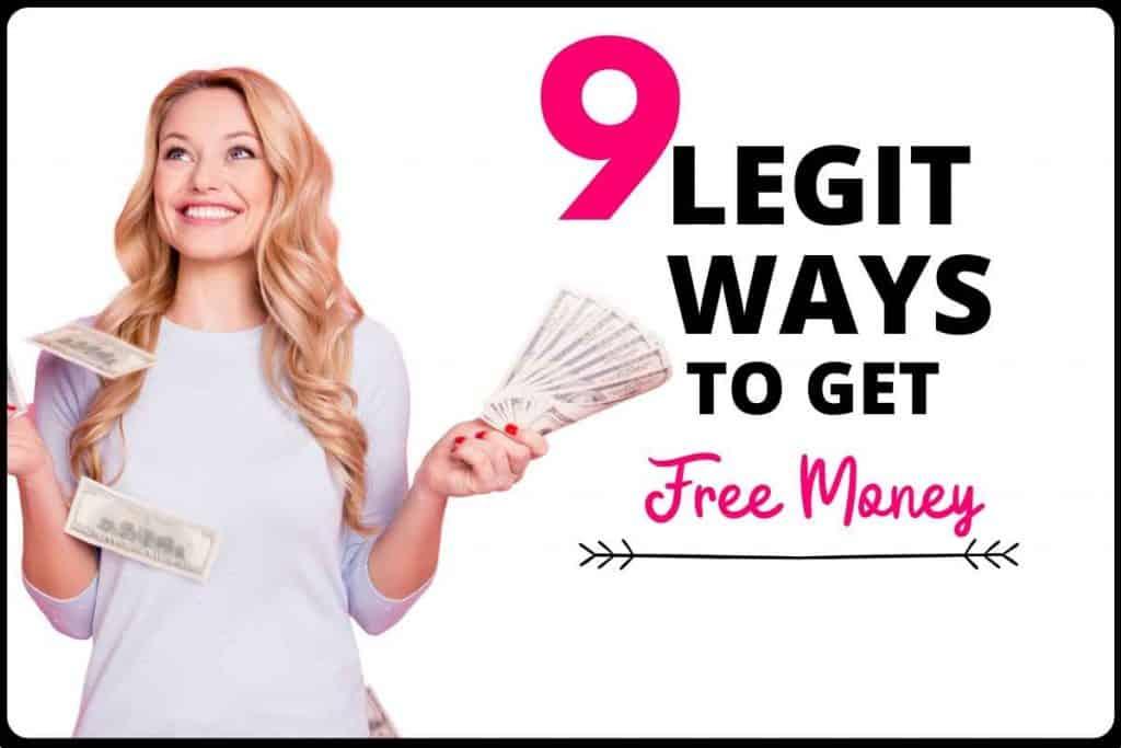 9 legit ways to get free money